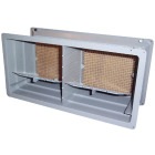 NorWesco DLX 8 In. x 16 In. Plastic Manual Foundation Vent with Damper Image 1
