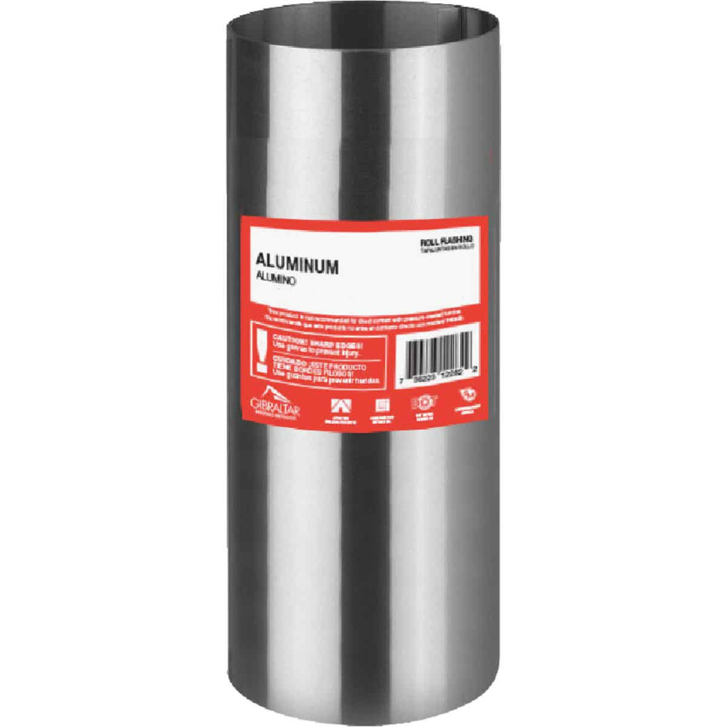 NorWesco 7 In. x 10 Ft. Mill Aluminum Roll Valley Flashing Image 1