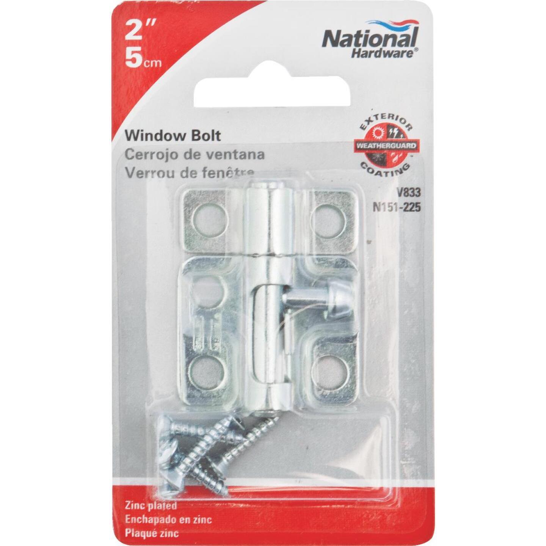 National 2 In. Zinc Cellar Window Barrel Bolt Image 2