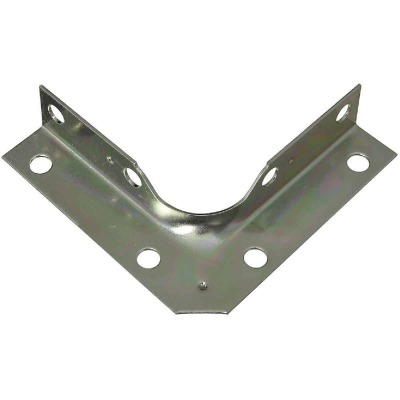 National Catalog V114 Series 3 In. x 5/8 In. Zinc Corner Brace (4-Count)