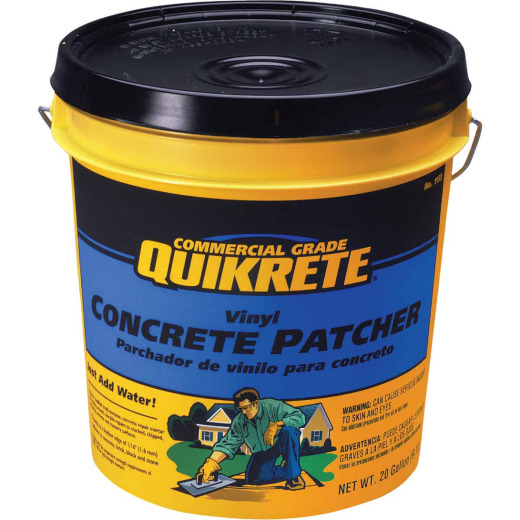 Quikrete 20 Lb. Gray Concrete Patch