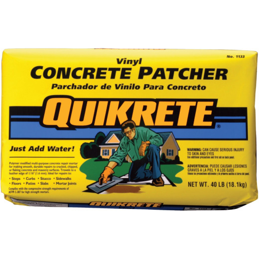 Quikrete 40 Lb. Gray Concrete Patch