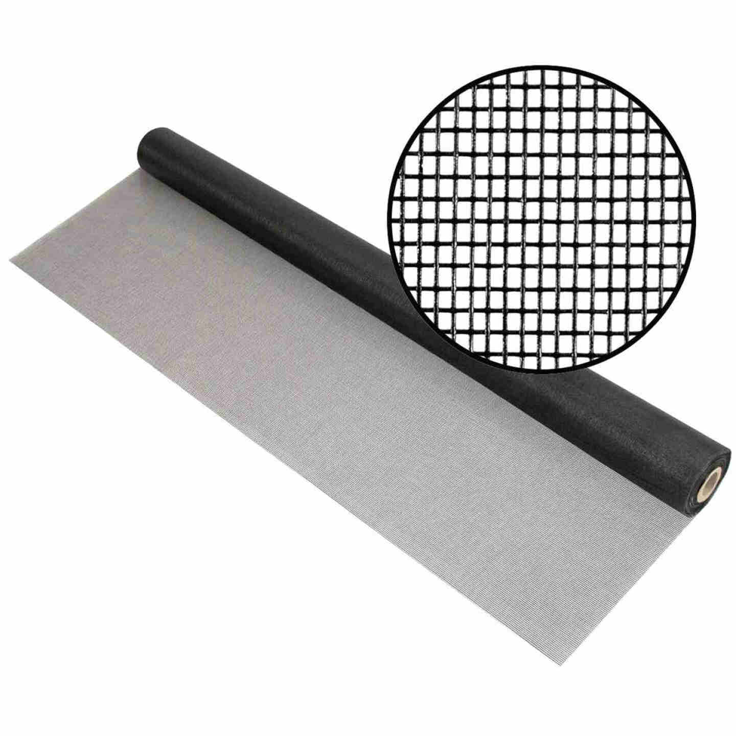 Phifer 60 In. x 100 Ft. Charcoal Fiberglass Mesh Screen Cloth Image 1