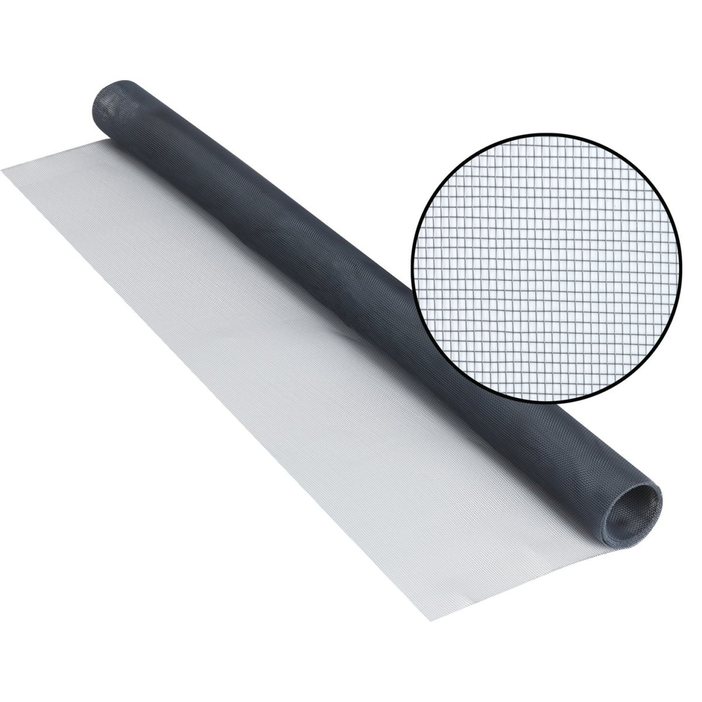 Phifer 30 In. x 84 In. Charcoal Aluminum Screen Ready Rolls Image 1