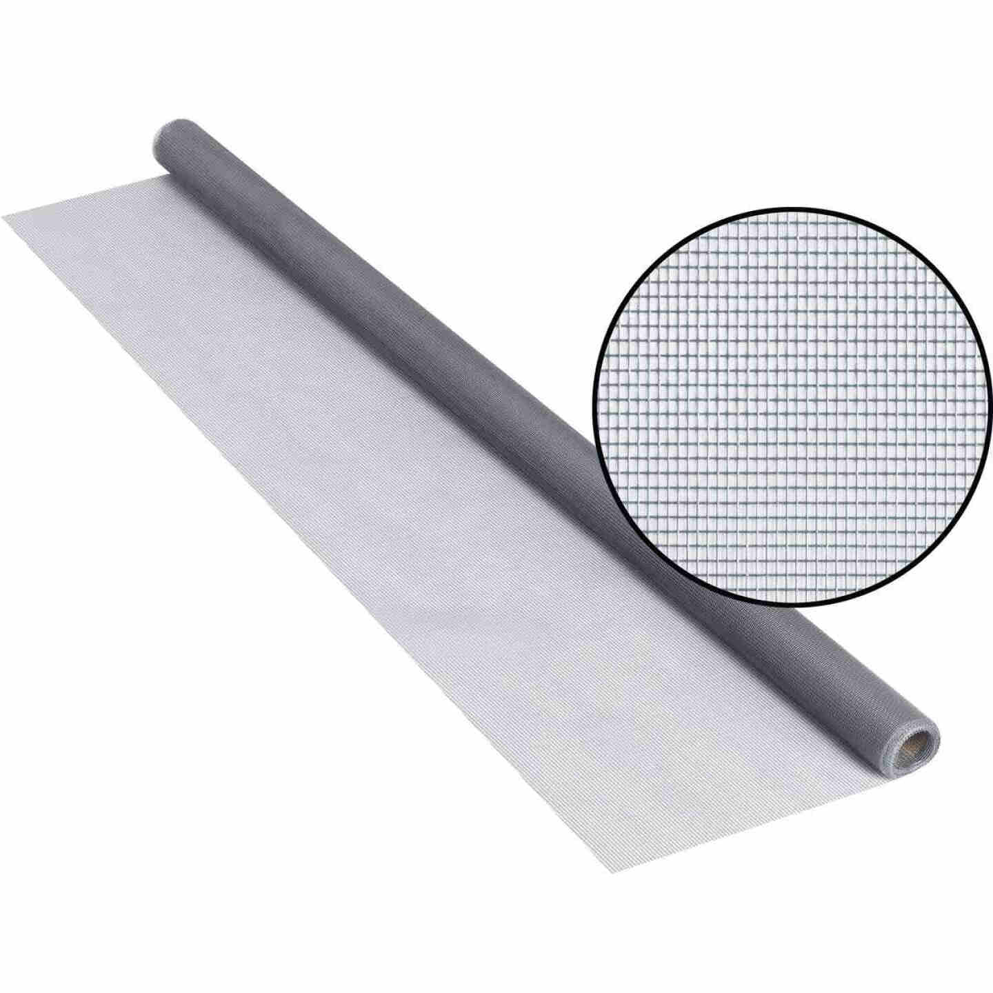 Phifer 30 In. x 84 In. Gray Fiberglass Screen Cloth Ready Rolls Image 1