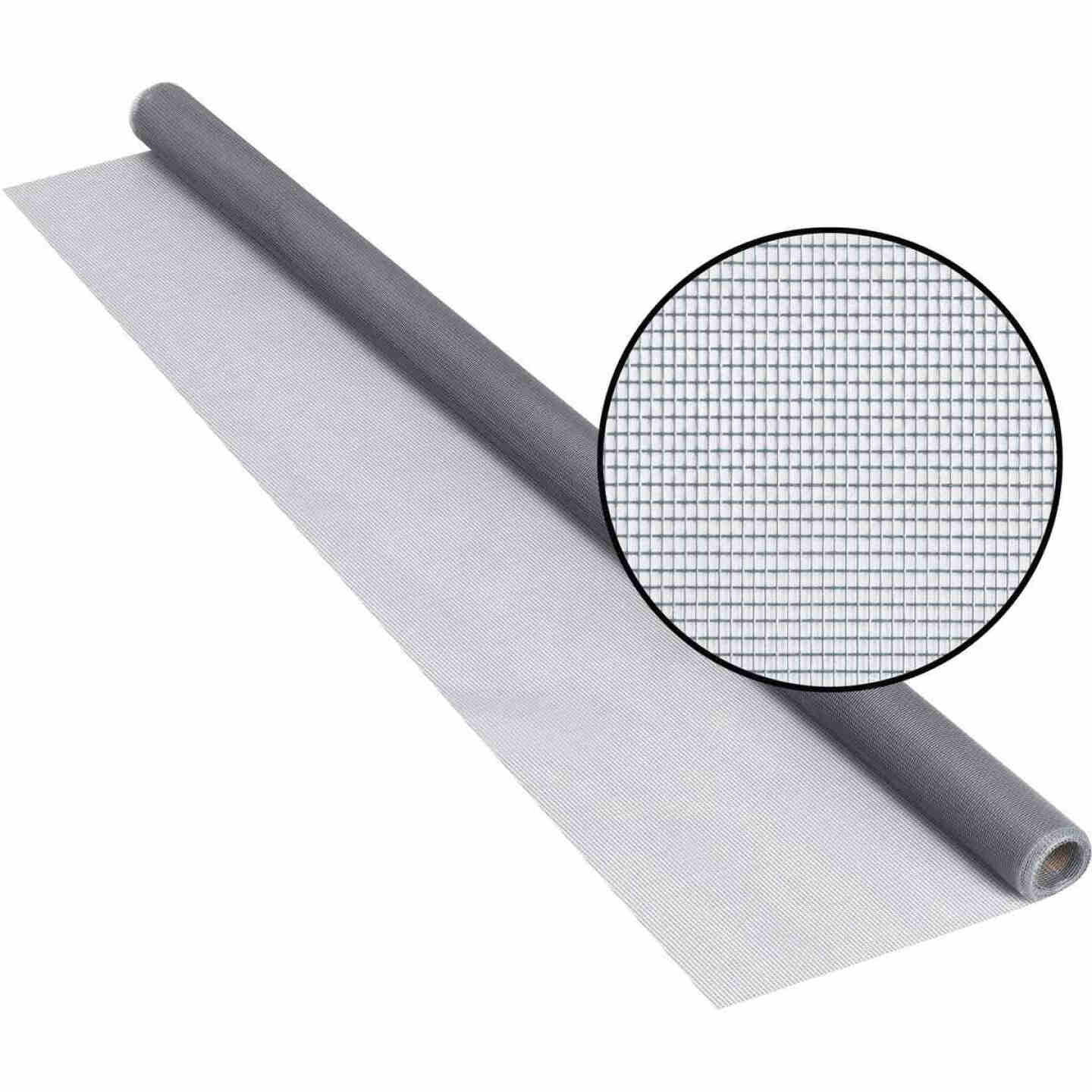 Phifer 36 In. x 84 In. Gray Fiberglass Screen Cloth Ready Rolls Image 1