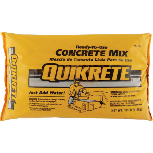 Quikrete 10 Lb. Ready to Use Concrete Mix