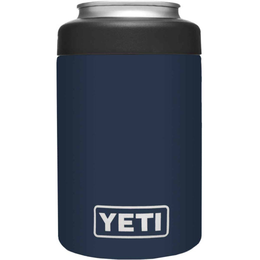 Yeti Rambler Colster 12 Oz. Navy Stainless Steel Insulated Drink Holder with Load-And-Lock Gasket