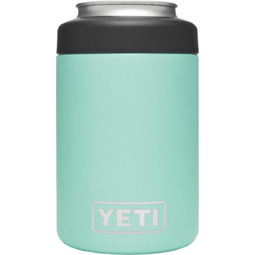 Yeti Rambler Colster 12 Oz. Seafoam Stainless Steel Insulated Drink Holder with Load-And-Lock Gasket